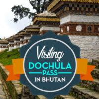 Travel Guide to dochula pass, the high mountain pass in Bhutan