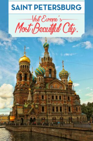 Visit Saint Petersburg, Europe´s most beautiful city