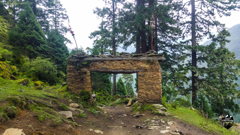 Laya,Bhutan,gate,layap