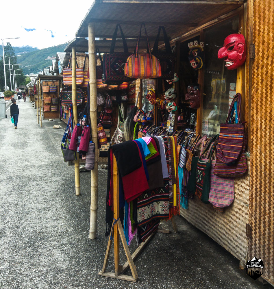 Local handcraft from all over Bhutan