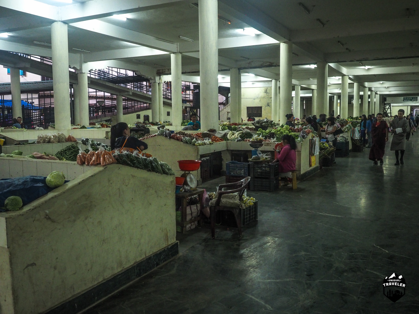 Just a small part of the Farmers market