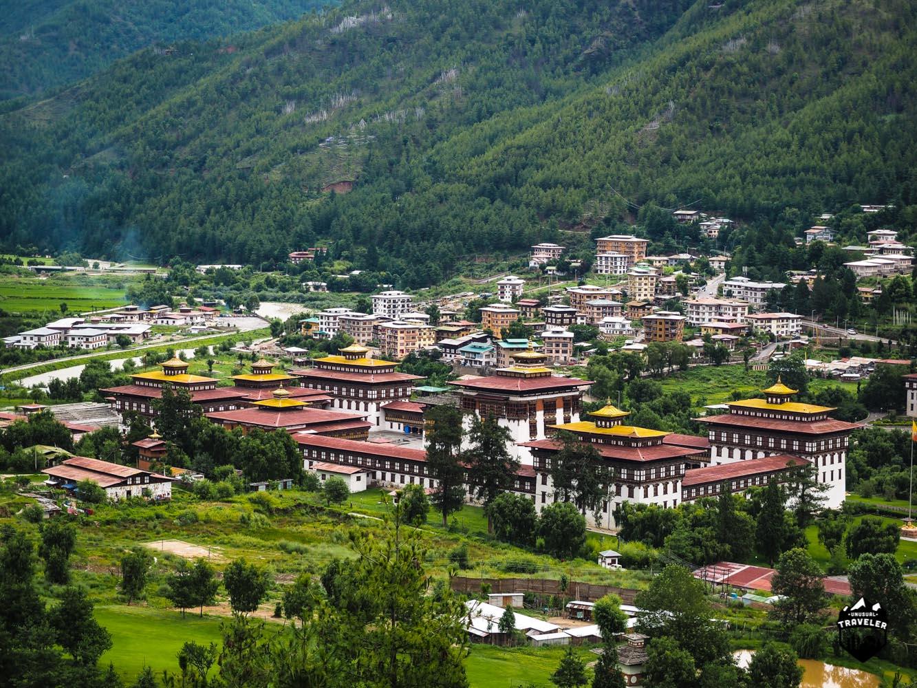 Tashi Chhoe Dzong,Thimphu,Bhutan
