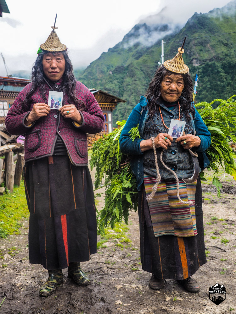Bhutan,Layap,Laya,Poloroid