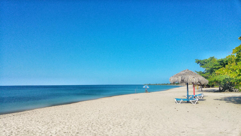 The Paradise beach of Playa Ancon.