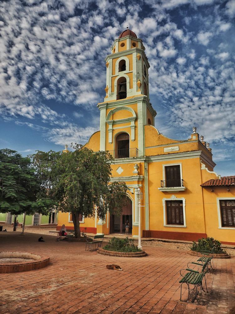 Trinidad is the Iglesia y Convento de San Francisco (Museo Nacional de Lucha Contra Bandidos/National Museum of the Struggle against Bandit