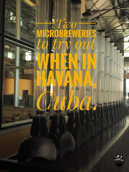 Guide to craft beer in Havana the capital of Cuba