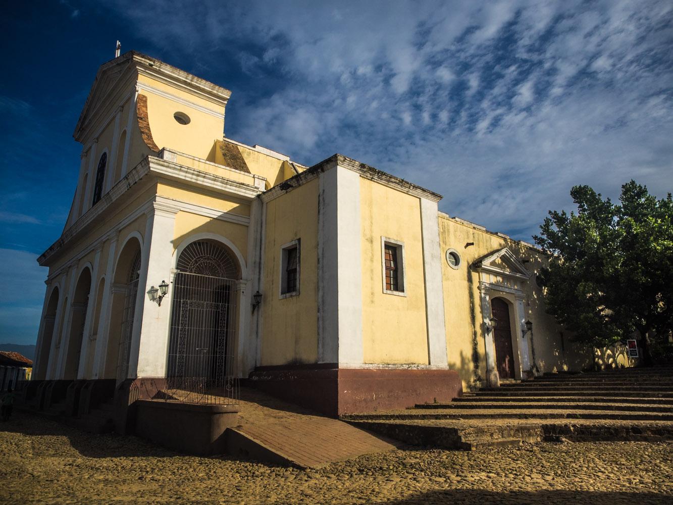The Holy Trinity Church in the heart of Trinidad.
