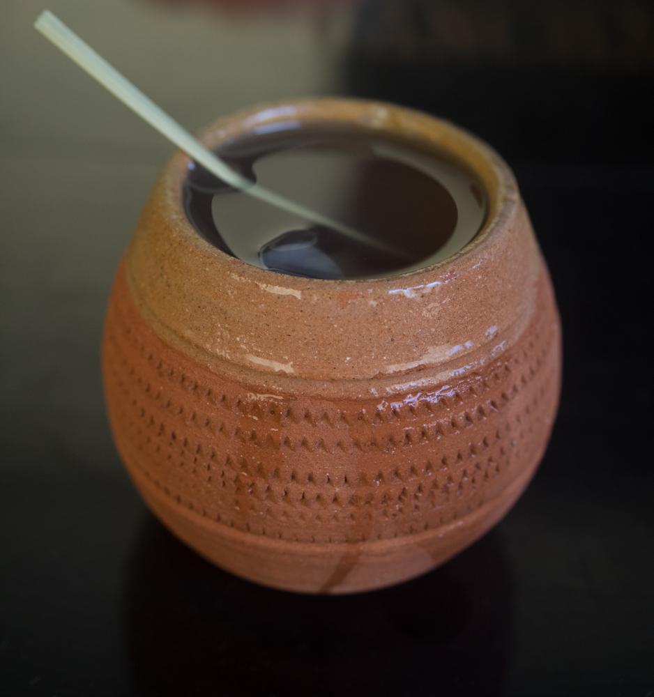The Canchánchara drink at La Casa de la Canchánchara