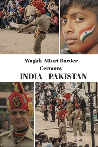 travel guide to Wagah border in India