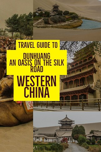 travel guide to Dunhuang in western China