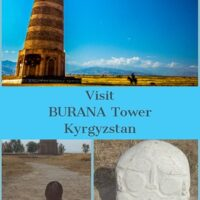 Burana Tower is one of the most accessible day trips to undertake from Bishkek, which isthe capital of Kyrgyzstan