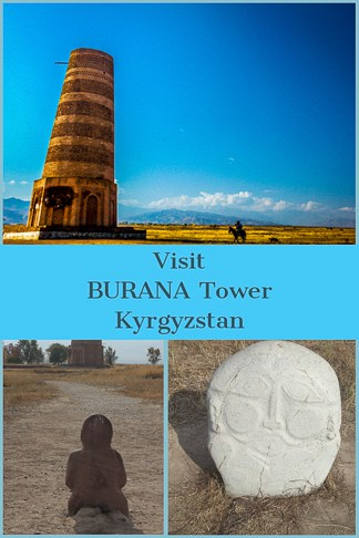 Burana Tower is one of the most accessible day trips to undertake from Bishkek, which is the capital of Kyrgyzstan