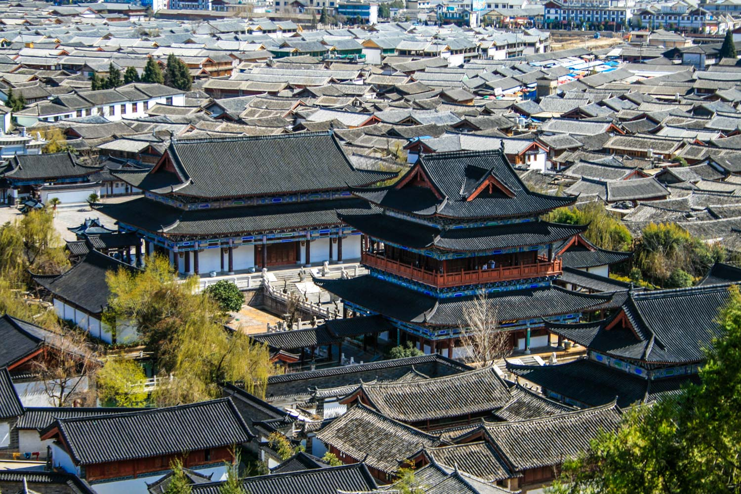 Mu Palace, The palace where the Mu Clan of the Naxi people ruled for over 400 years
