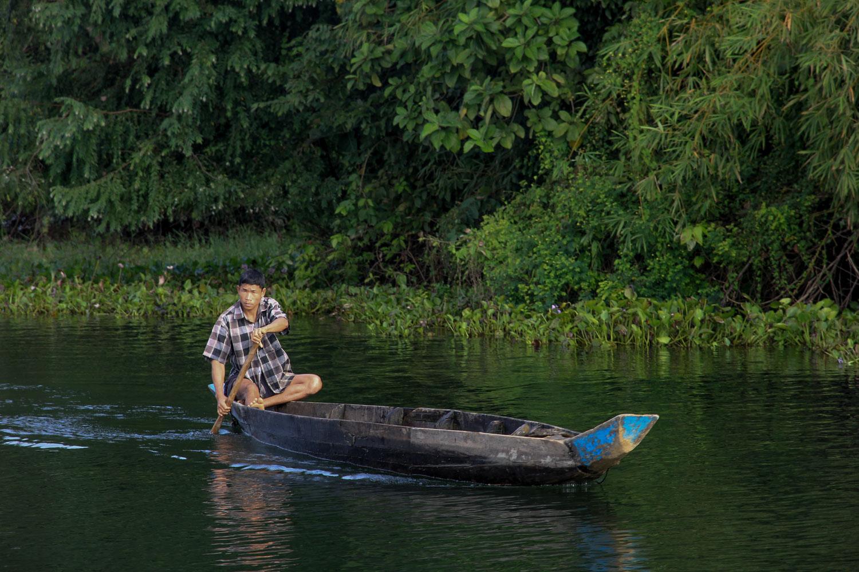 Sangu River in Bangladesh