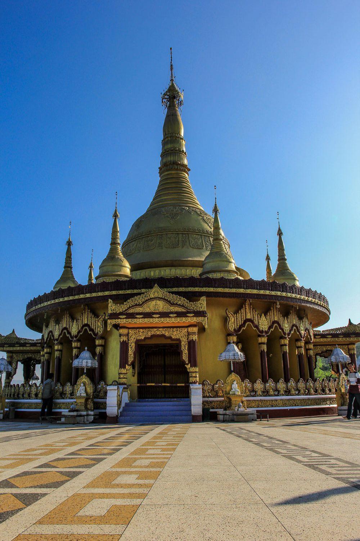 Buddha Dhatu Jadi the golden Temple of Bangladesh