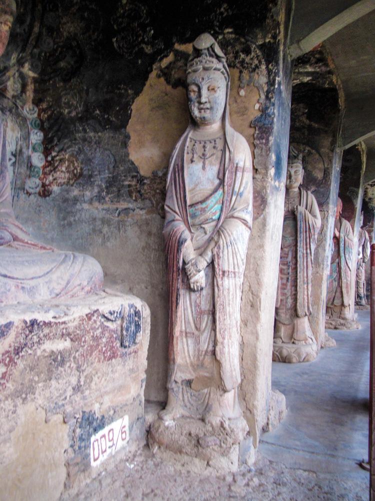 Orginal Statues wilth still the Orginal paint