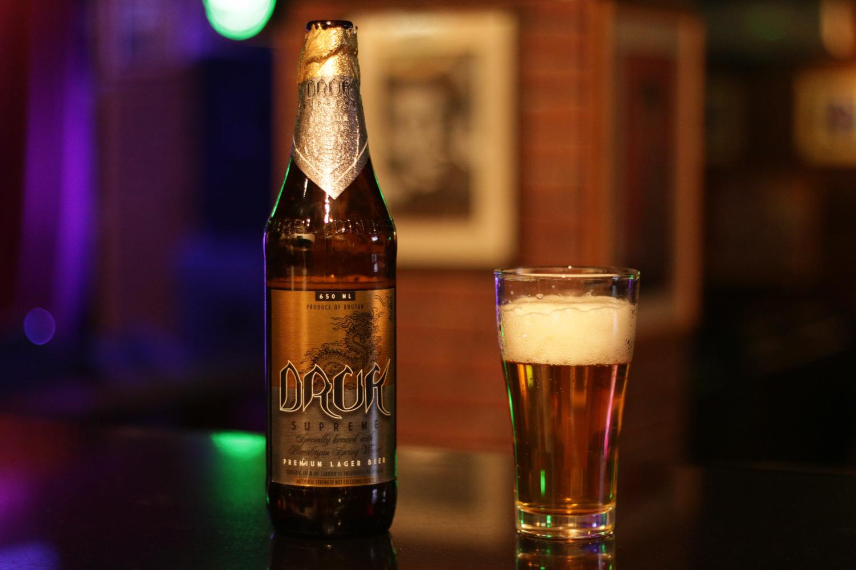 Druk Supreme has the largest head of all beers in Bhutan.