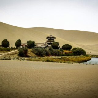 Dunhuang an Oasis on the Silk Road.