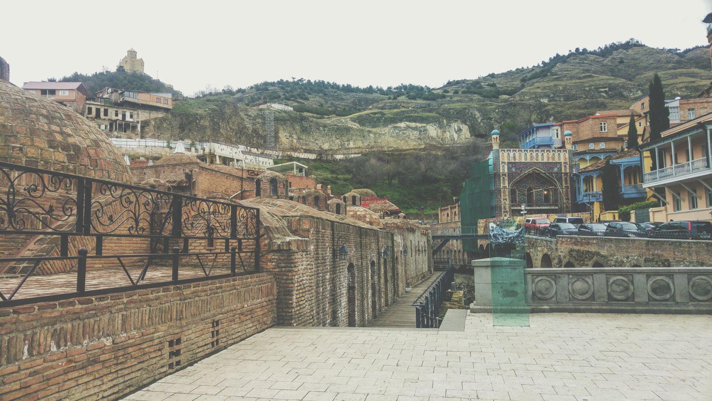 Tbilisi old town in Georgia