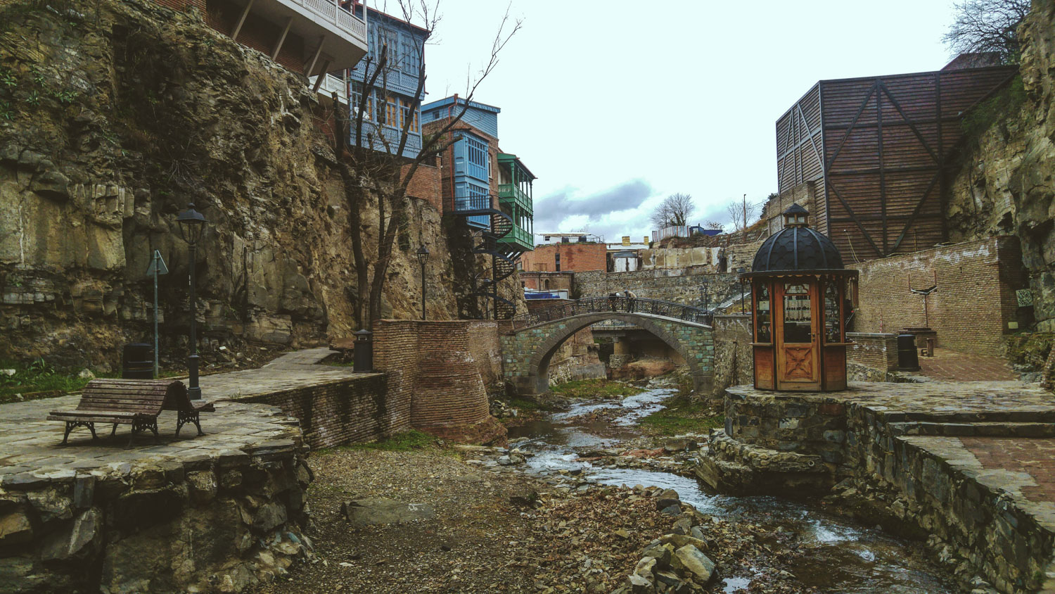 old town Tbilisi in Georgia travel guide