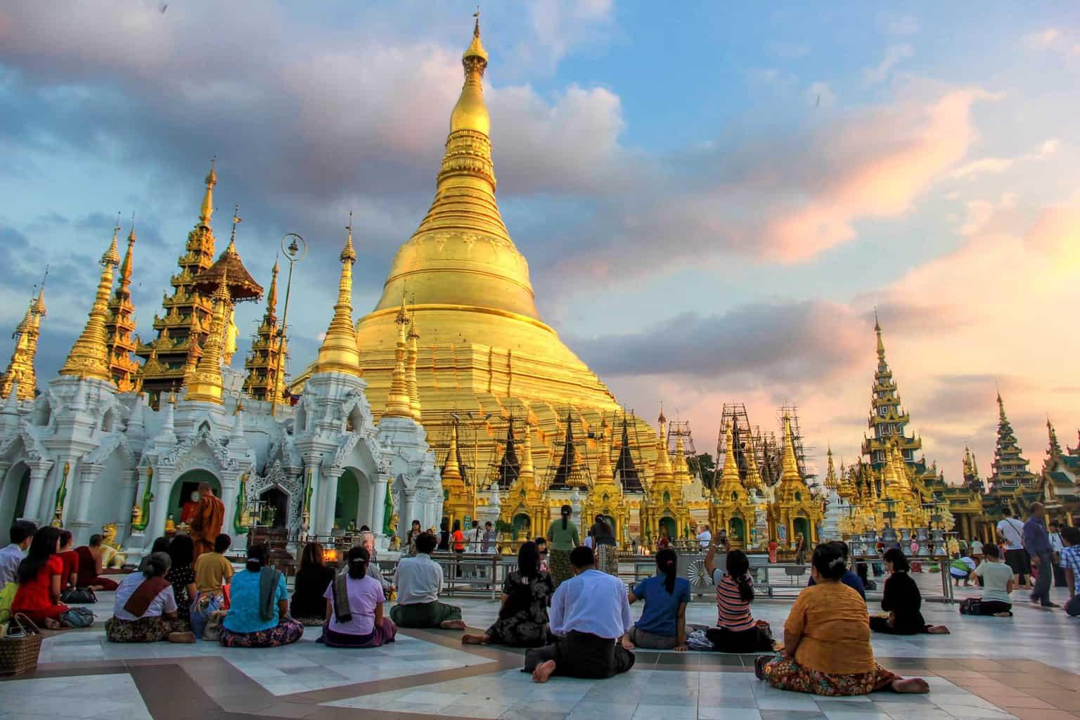 religious site in Myanmar