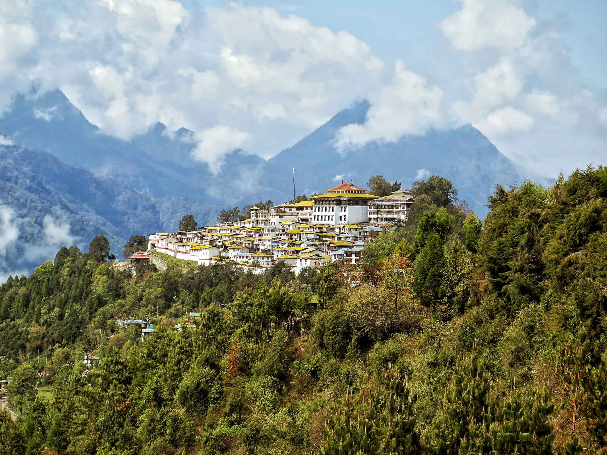 Tawang Monastery in India