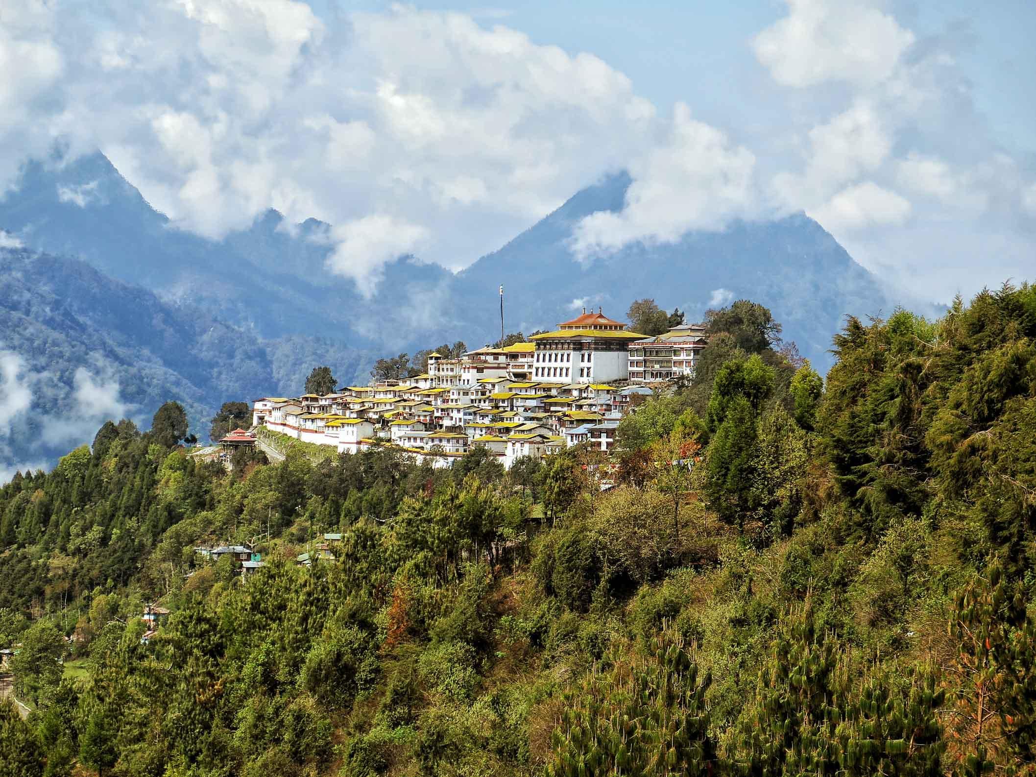 Tawang Monastery in india