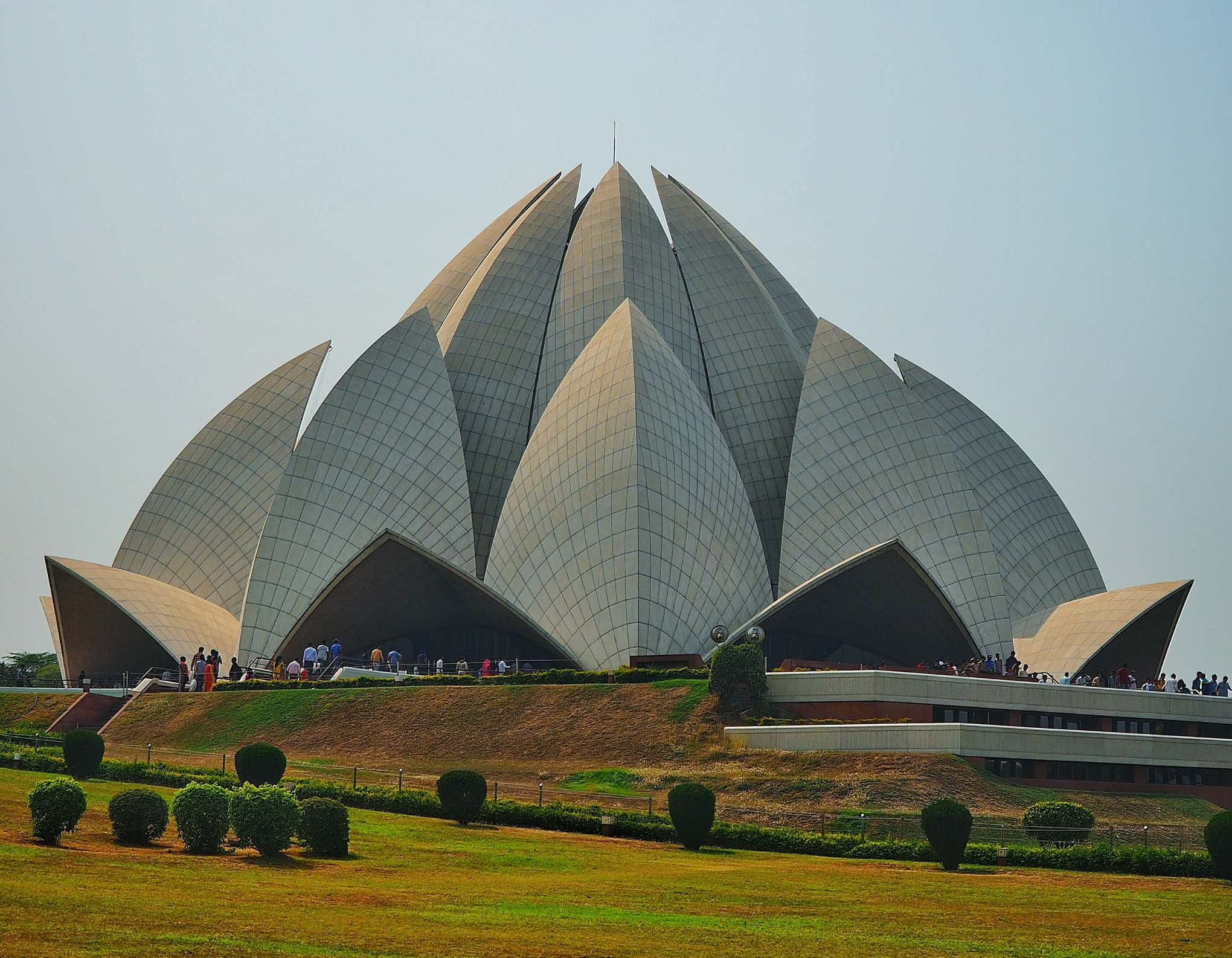 Lotus temple in india