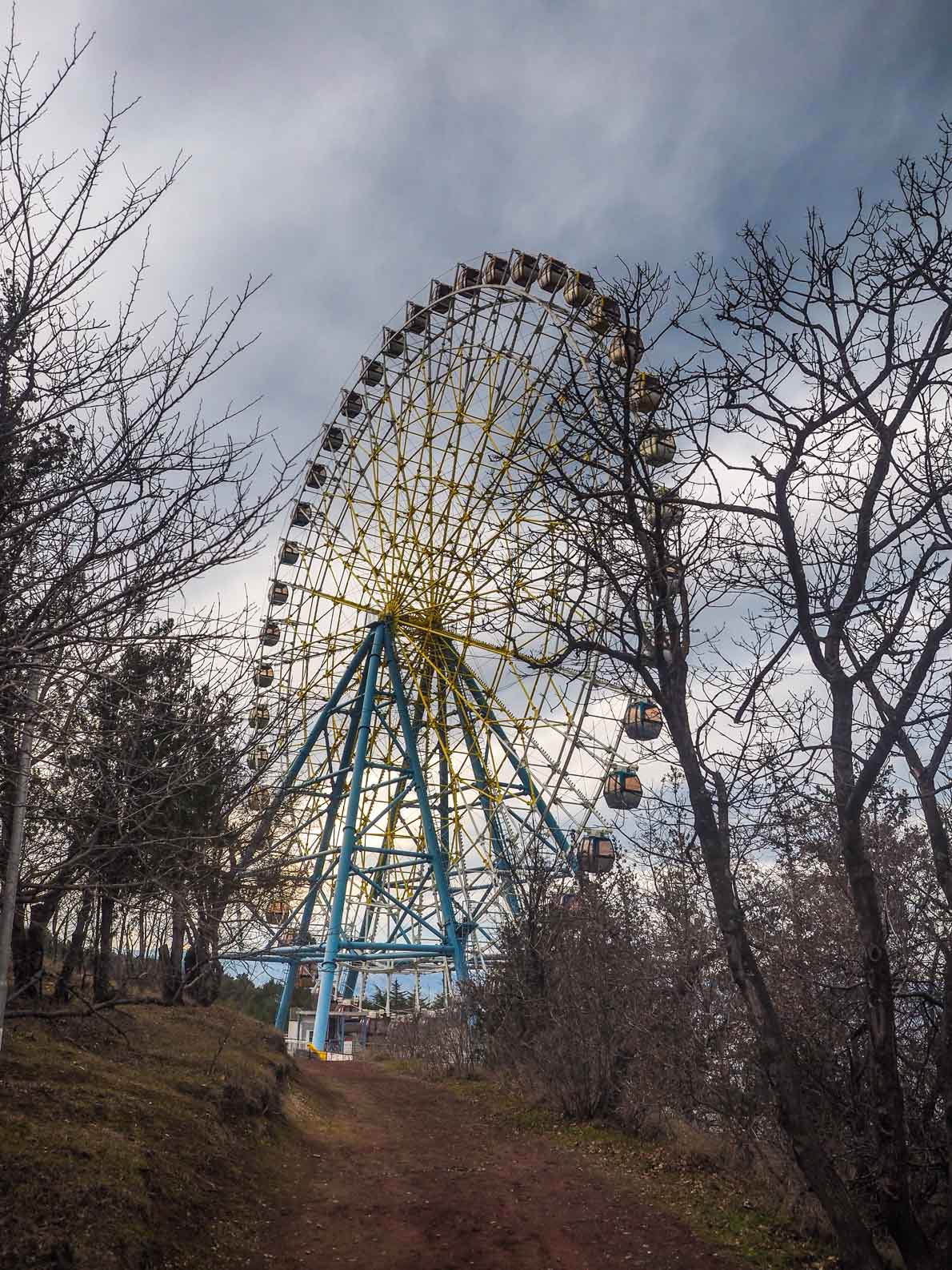 Mtatsminda Park in Tbilisi Georgia