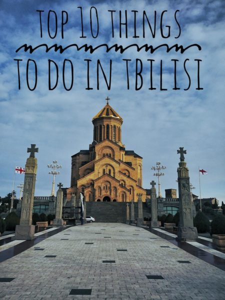 Tbilisi, the capital of Georgia, for me, is one of a fascinating cities in the world.