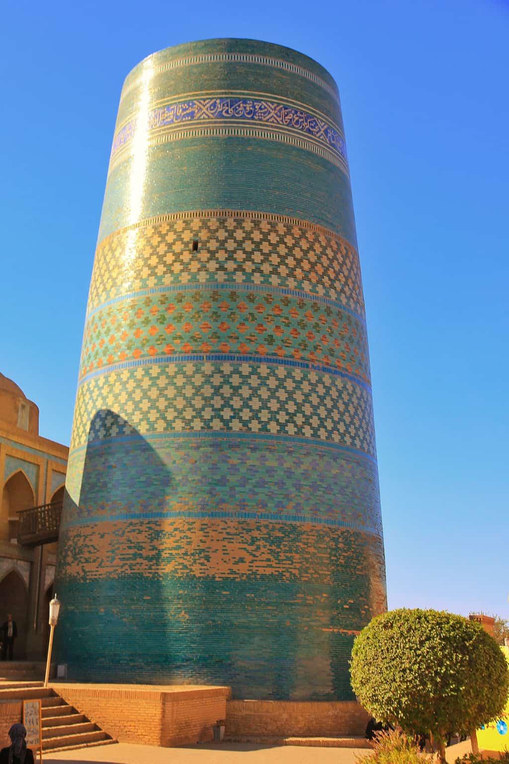 Kalta Minor the most famous land mark in Khiva