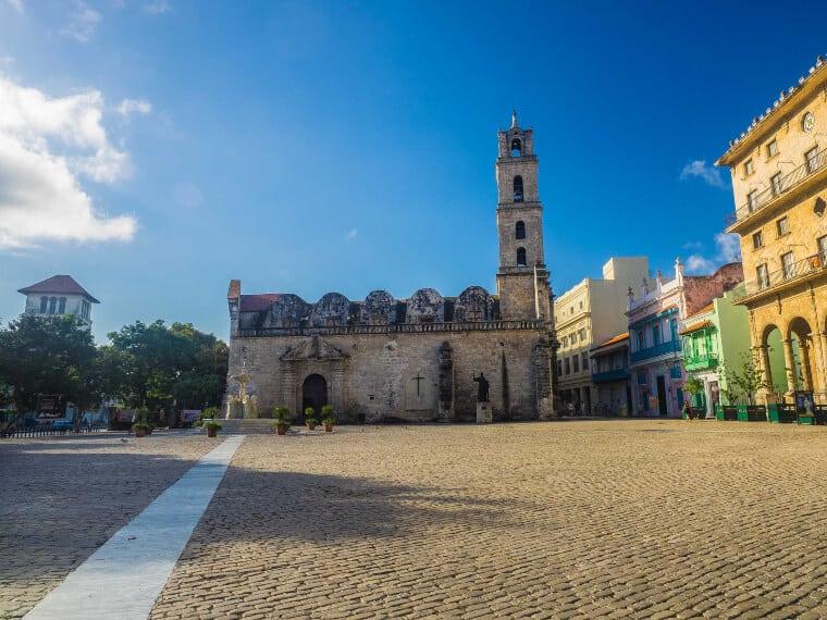 Plaza de San Francisco in Havana, Cuba