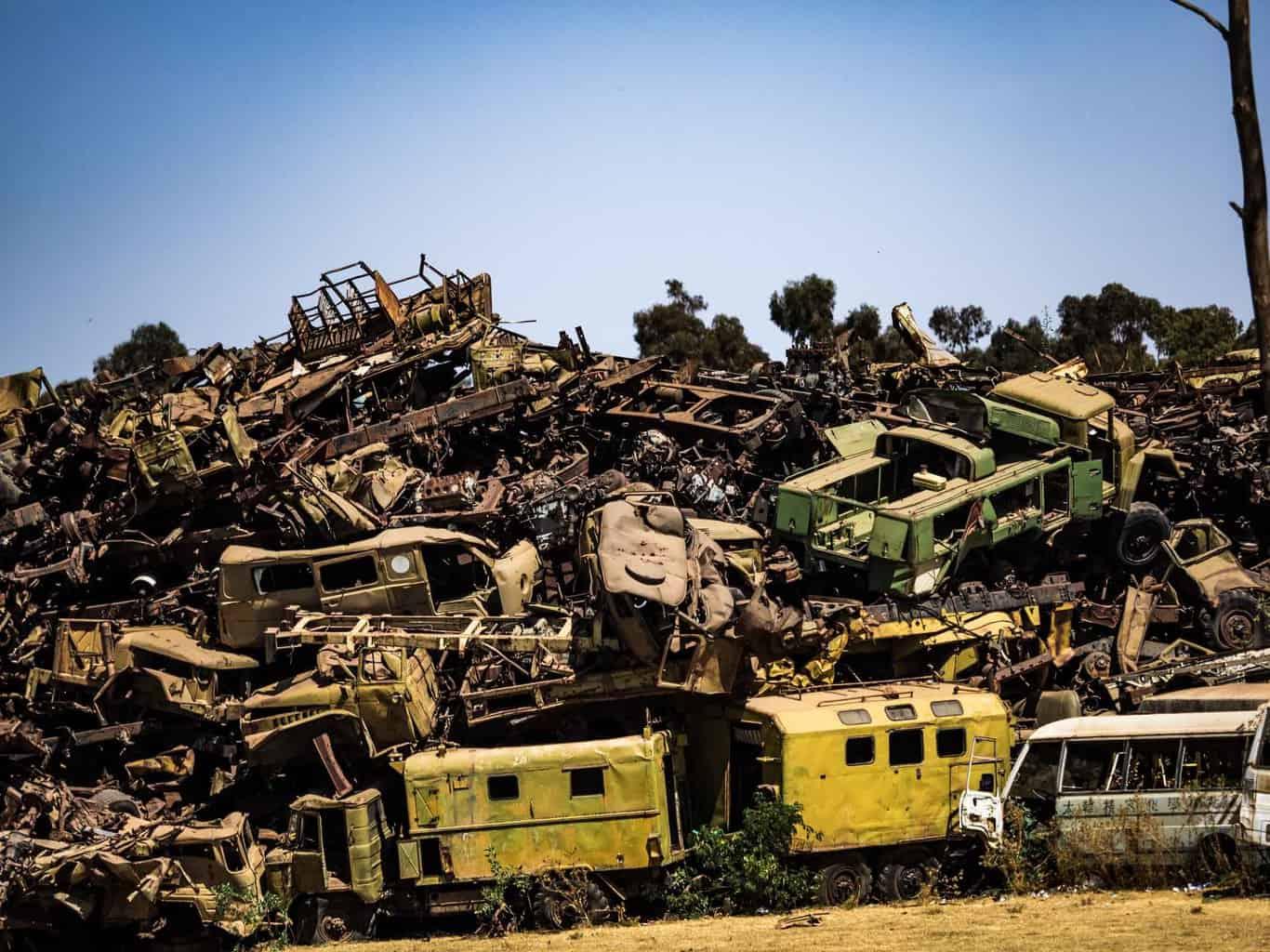 Asmara Military Graveyard