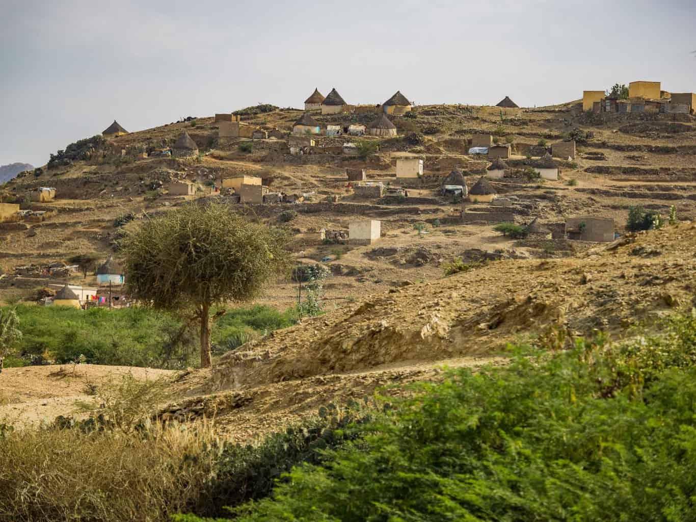 local village in Eritrea