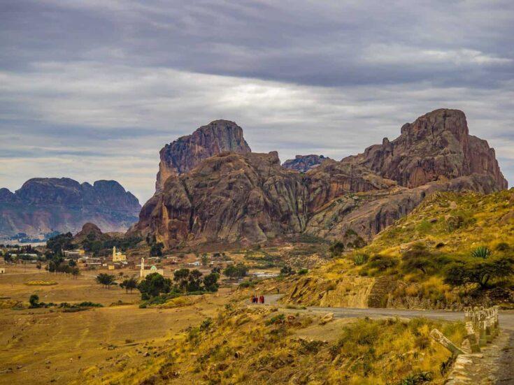 landscape in southern Eritrea