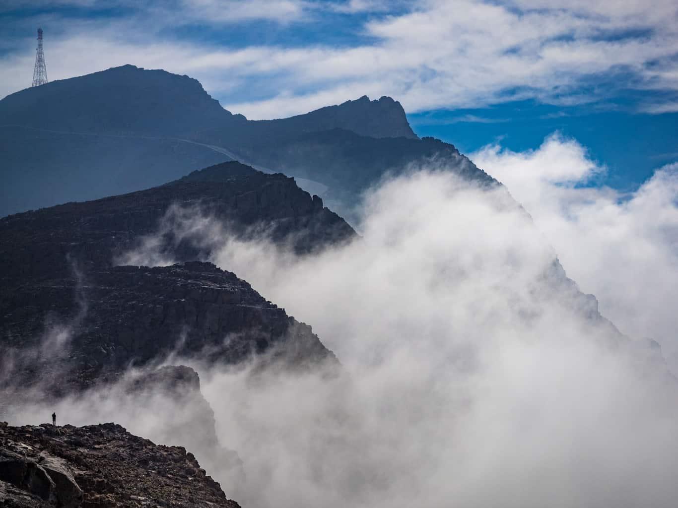 hajar mountains in UAE