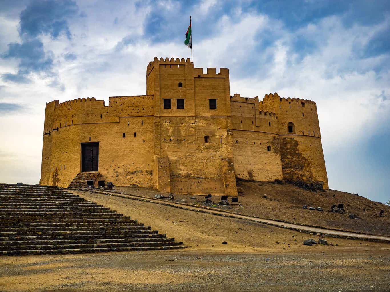 Fujairah Fort in UAE