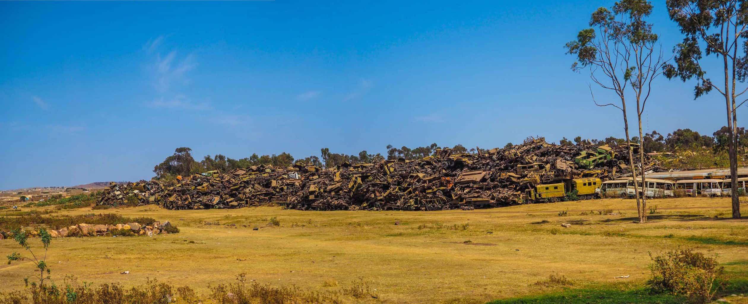 Asmara Military Graveyard.