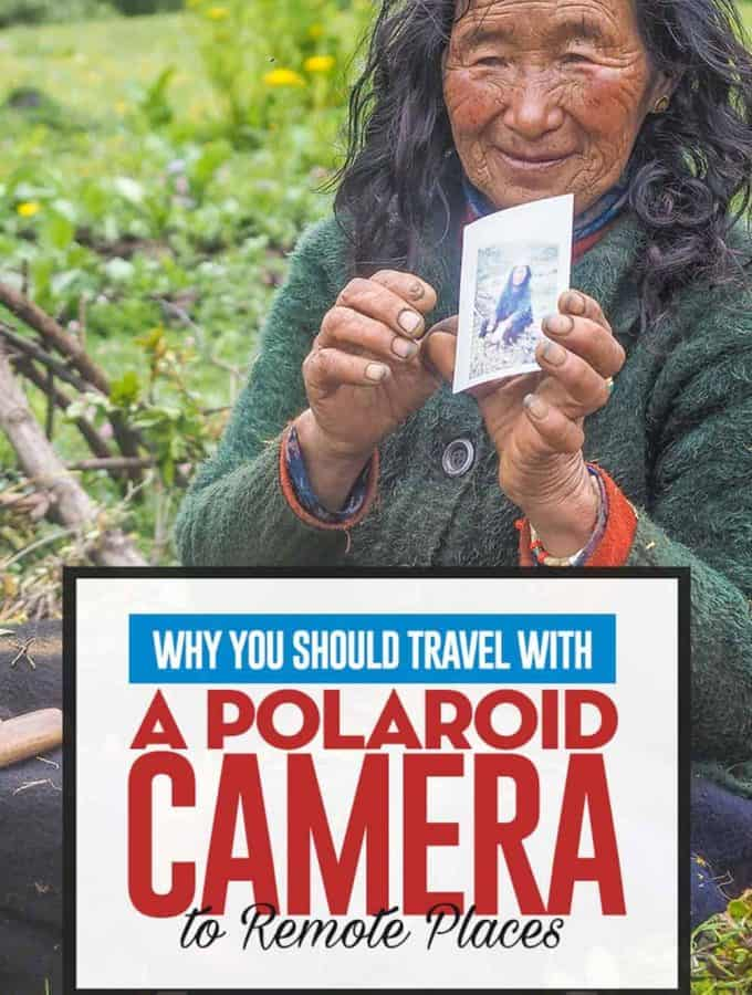 Why you should always bring a Polaroid Camera while traveling.
