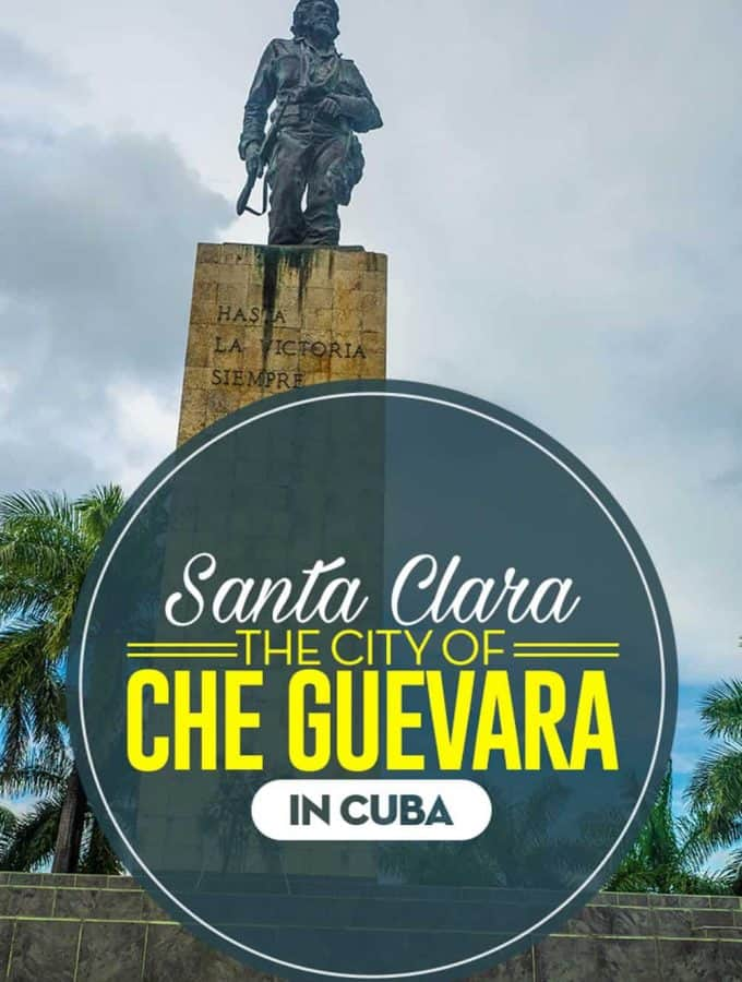 "It was in the city of Santa Clara, in Central Cuba. So it's easy to understand why El Che"" Guevara's mausoleum was built here."