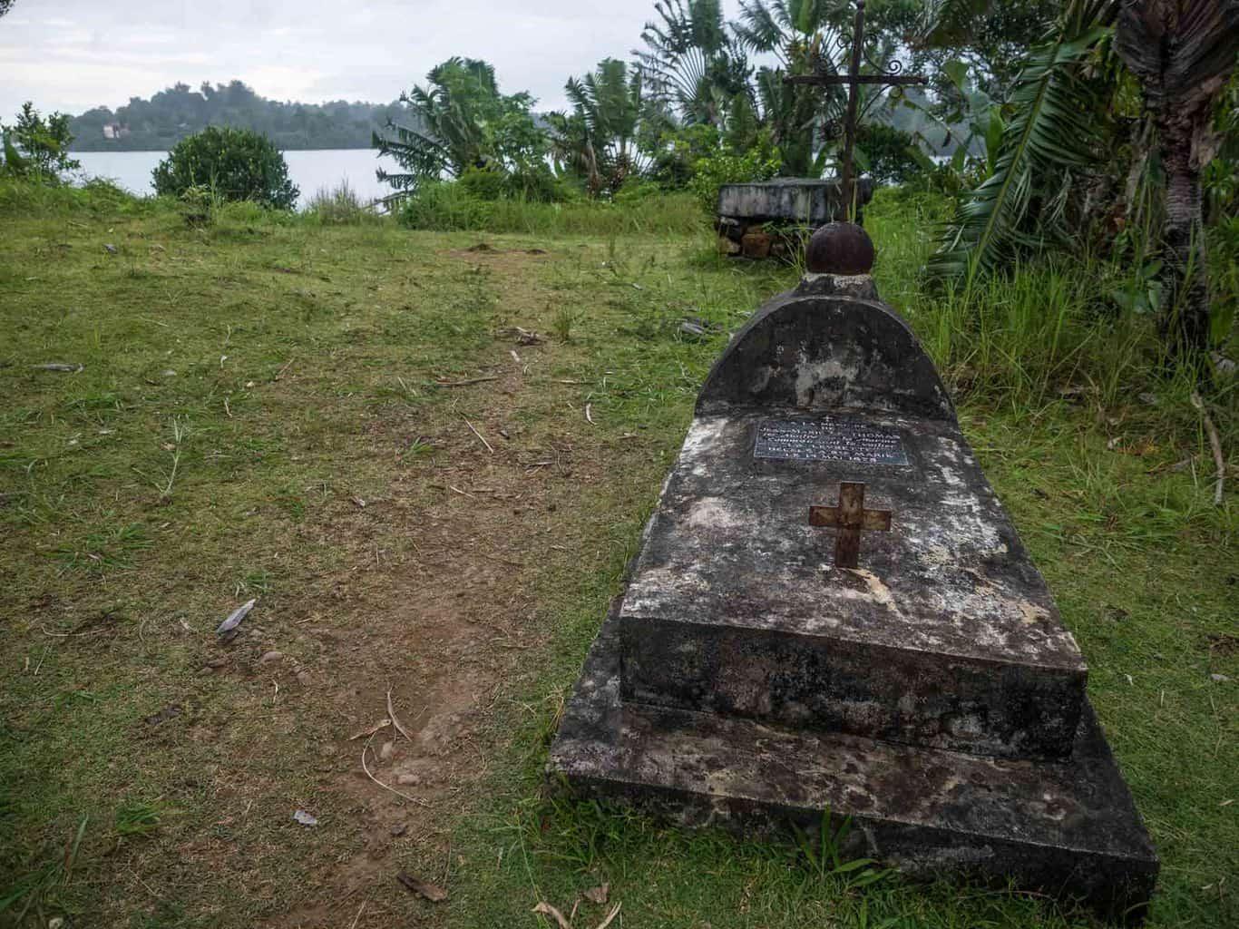 Pirate grave in Madagascar