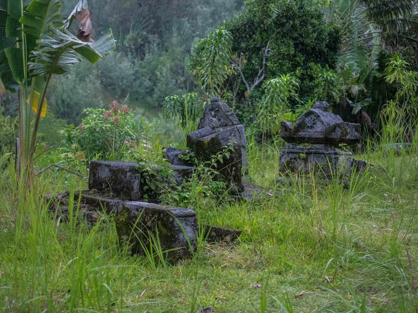 real pirate grave stones in Madagascar