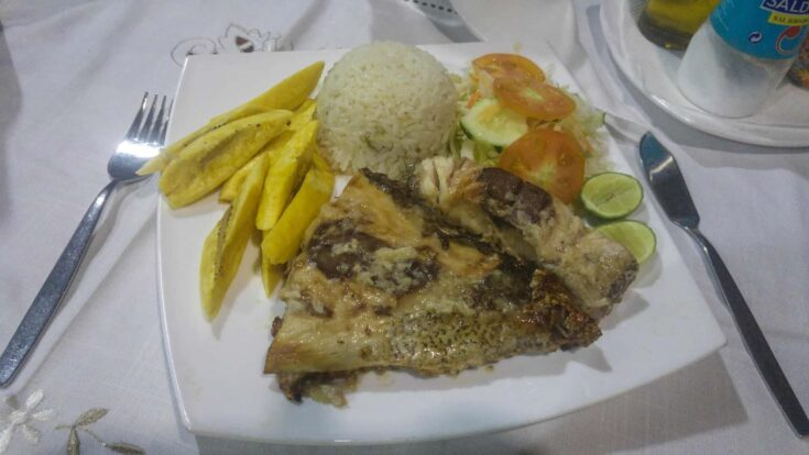 Sao Tome food is mostly seafood