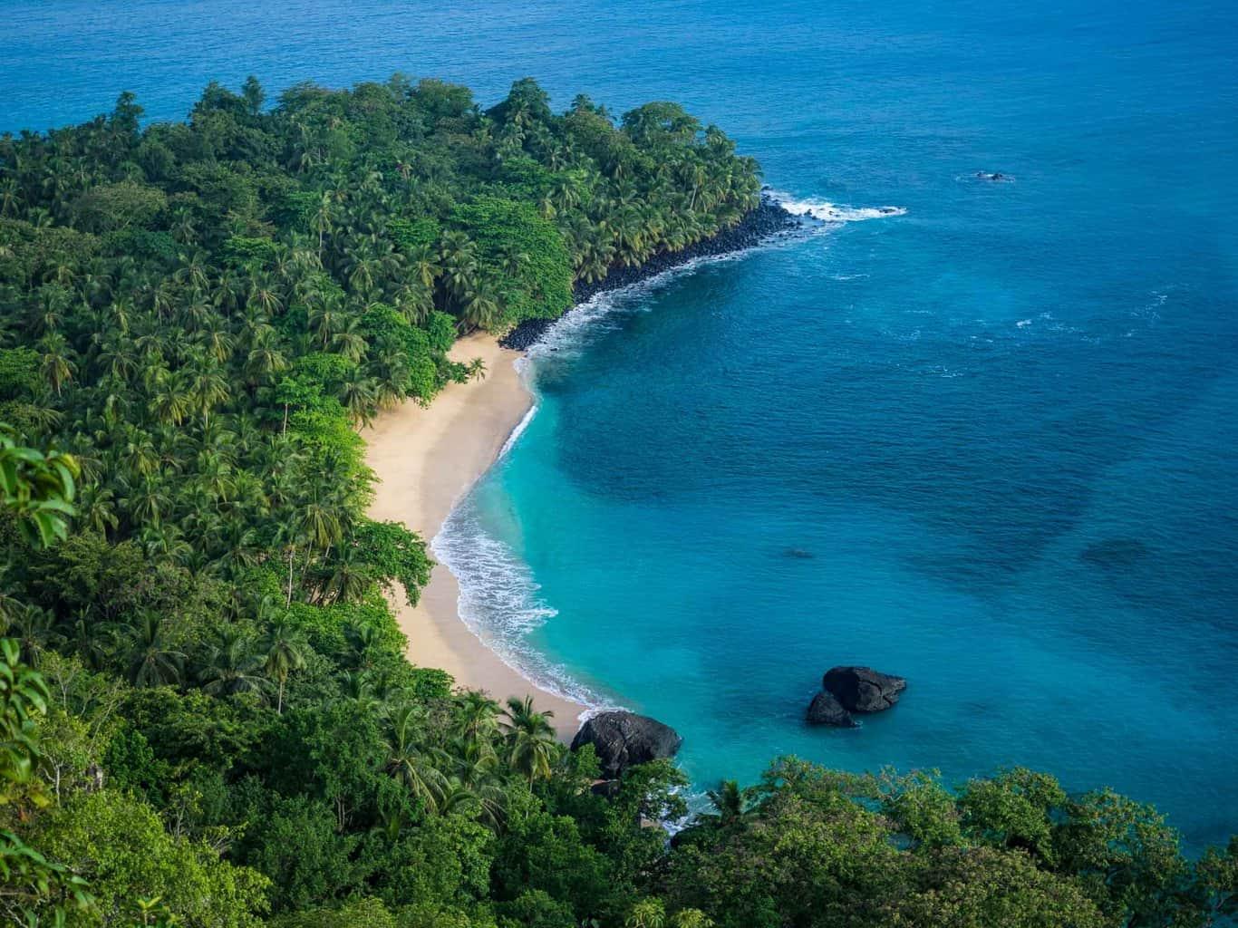 The famous Banana Beach