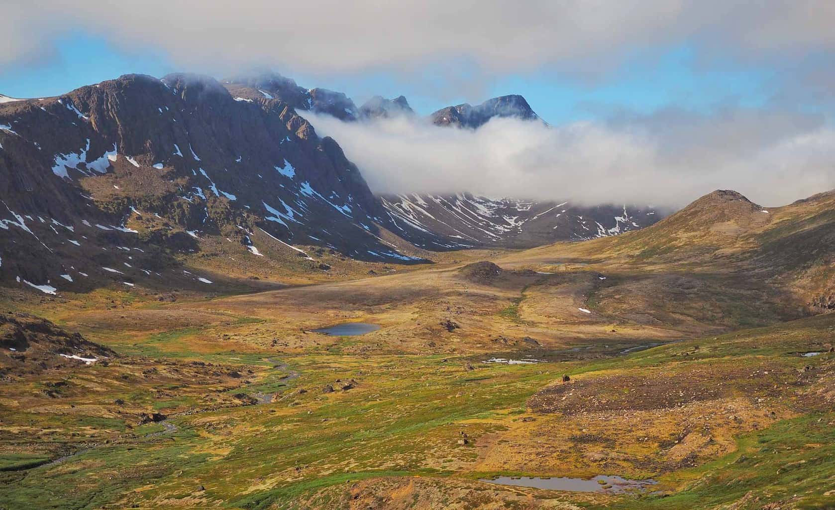Scenery from the Arctic Circle Trail