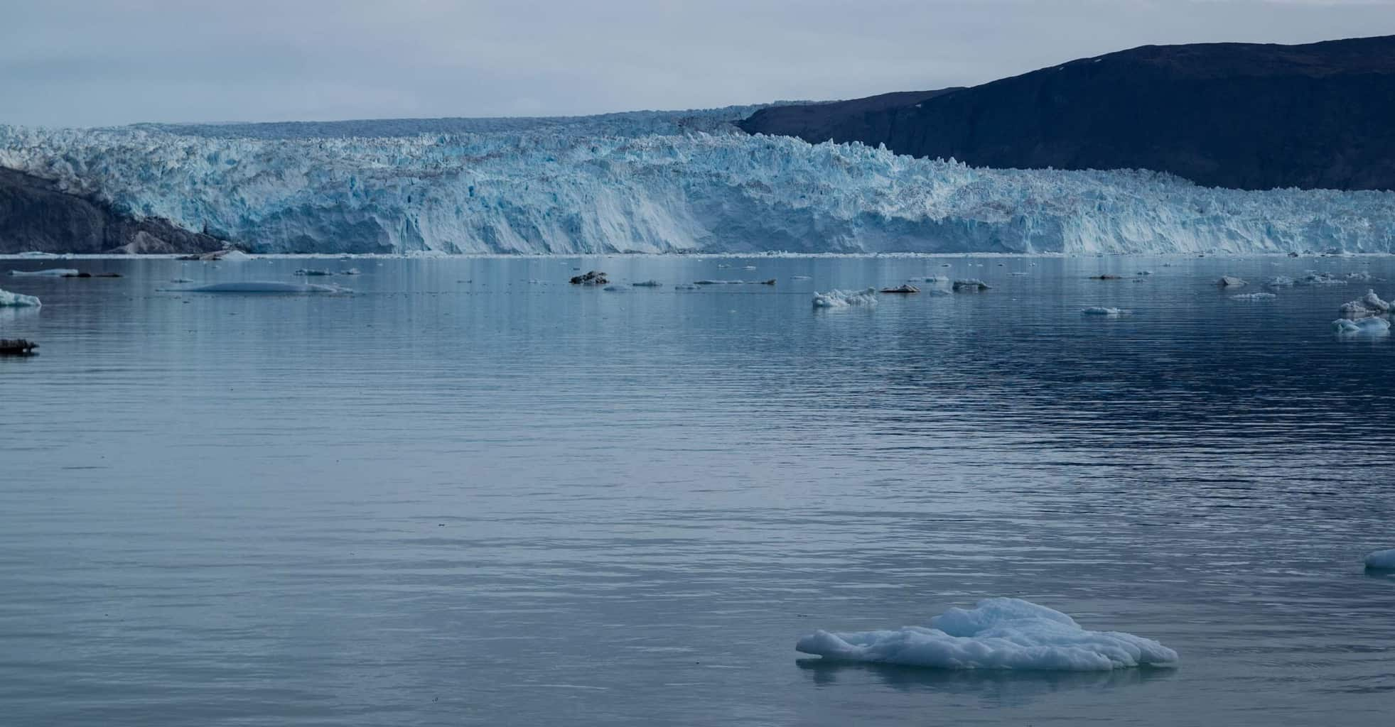 Eqi Glacer in Greenland