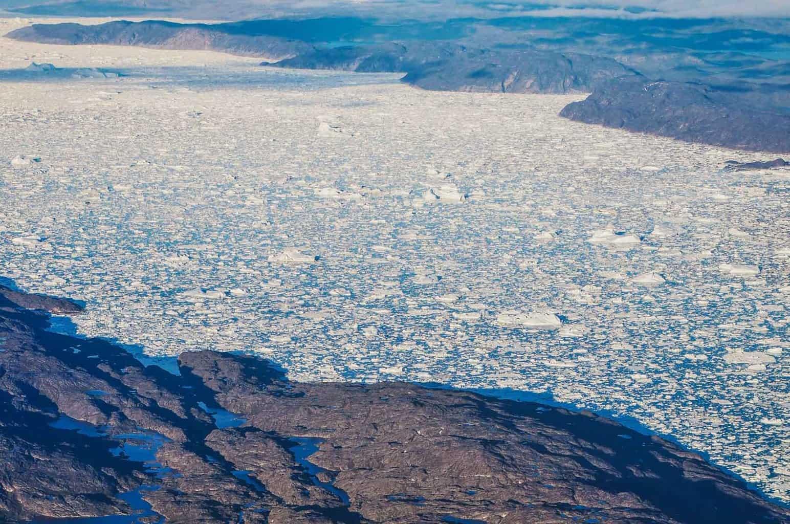 Ilulissat Icefjord.