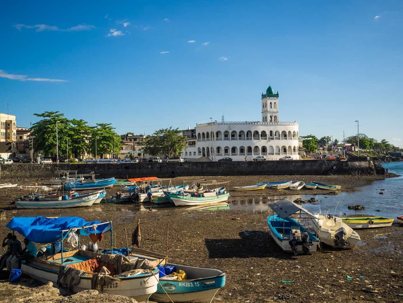 The most famous landmark Comoros the Ancienne Mosquée de Vendredi (old Friday mosque. dating back to around 1427