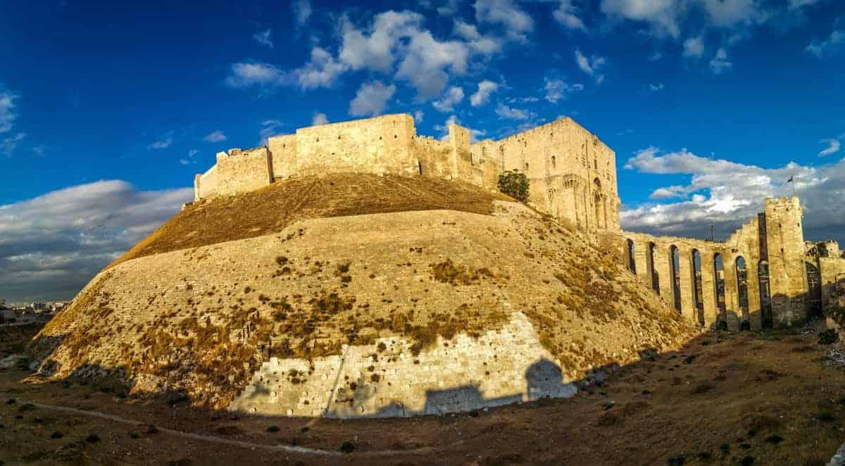 Aleppo Citadel in 2017