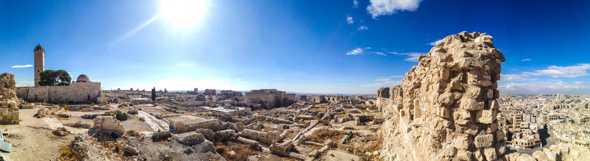 Aleppo Citadel in Syria Travel Guide